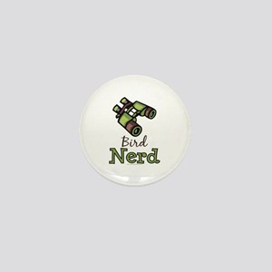 Bird Nerd Birding Ornithology Mini Button
